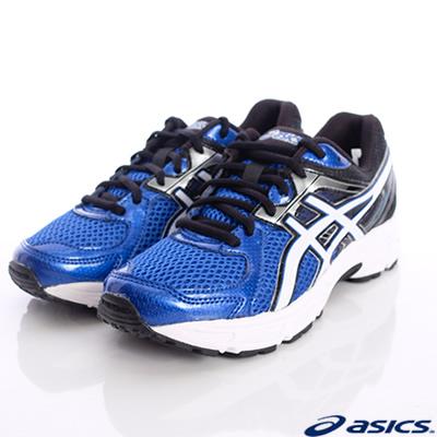 asics競速童鞋-透氣運動07N-5901藍白(中童段)-N0