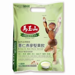 馬玉山 薏仁燕麥堅果飲(30gx12入)