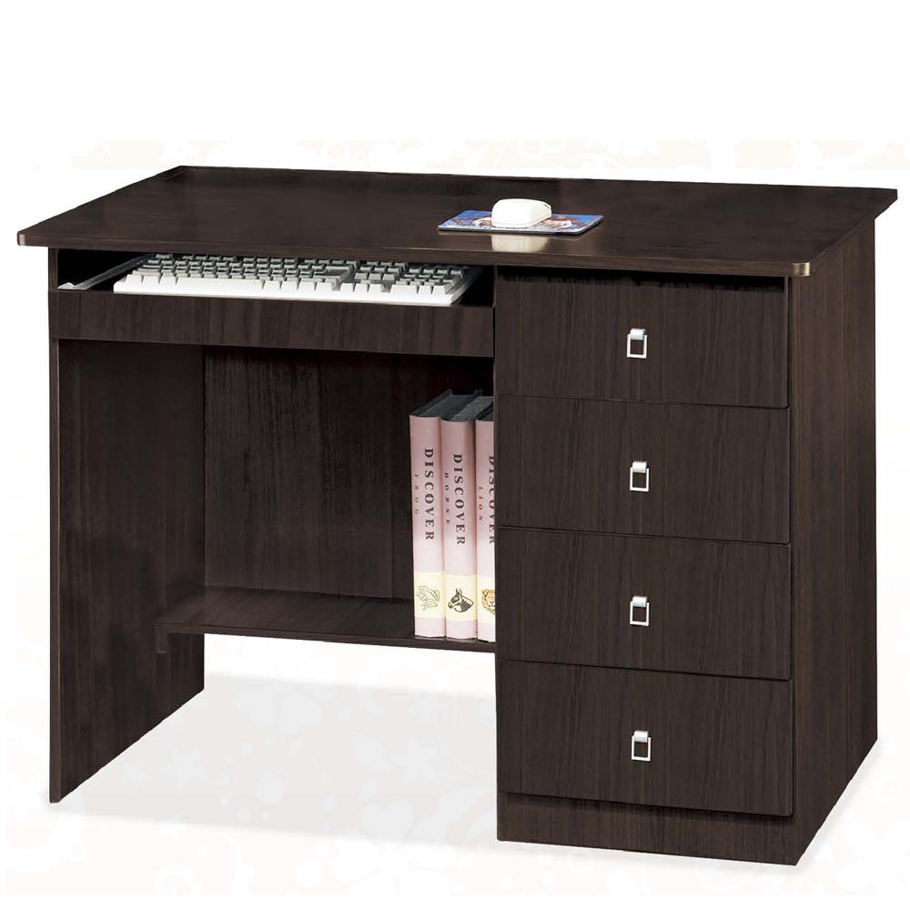 CASA卡莎 瑪德胡桃色3.5尺電腦桌