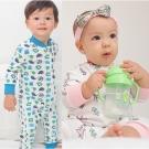 baby童衣 居家服 側開睡衣型連身衣 60161