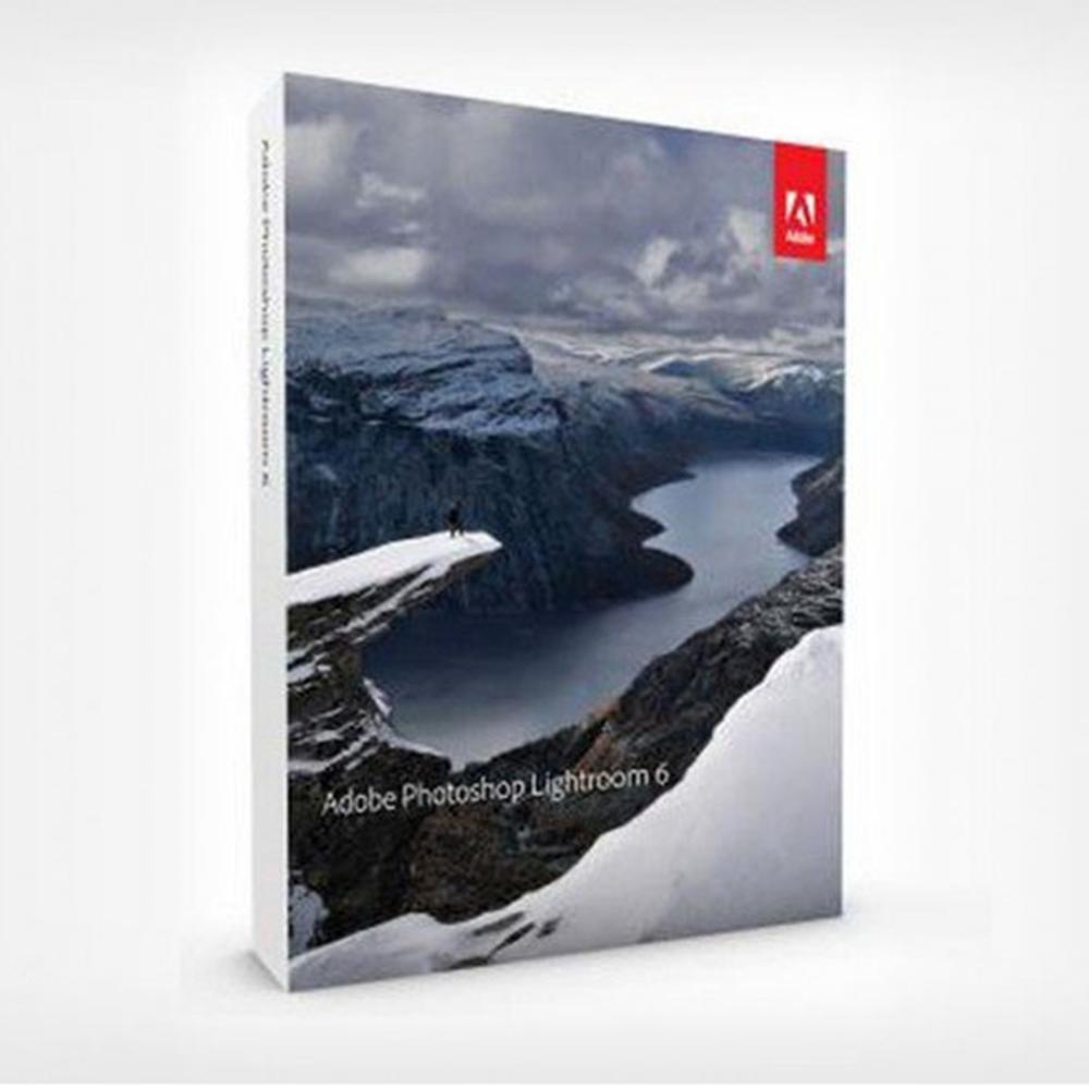 Adobe Lightroom 6 / CC 中文版 for win/mac 盒裝版