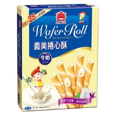 義美 牛奶捲心酥(198g)