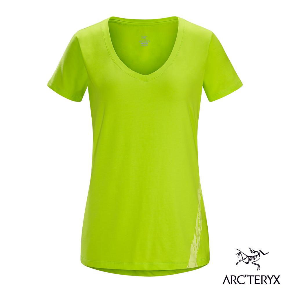 Arcteryx 24系列 女 有機棉 Regenerate 短袖T恤 榍石黃