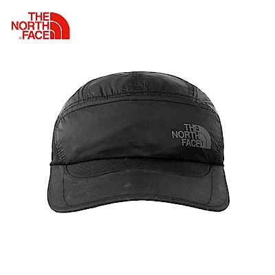 The North Face北面黑色吸濕排汗休閒情侶款運動帽