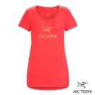 Arcteryx 始祖鳥 24系列 女 有機棉 短袖T恤  亮紅