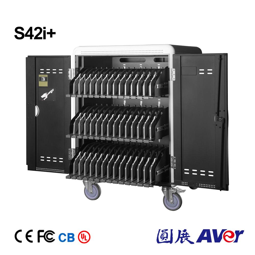 Aver 圓展 S42i  42台 平板與筆記型電腦充電車