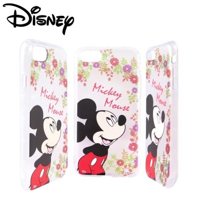 Disney迪士尼iPhone 6/6s/7(4.7吋)共用防摔氣墊空壓保護套_賞花米奇