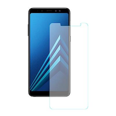 【SHOWHAN】Samsung A8 Plus(2018) 9H鋼化玻璃貼疏水...