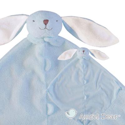 美國 Angel Dear 動物嬰兒安撫巾 (藍色小兔)