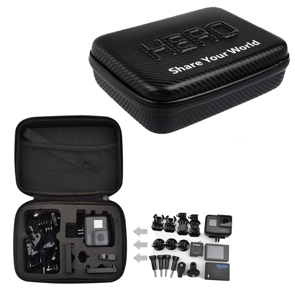 GoPro Hero 專用 防水防沙硬殼中型收納包