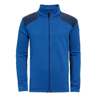 【hilltop山頂鳥】男款Polartec保暖外套H22MT6-藍