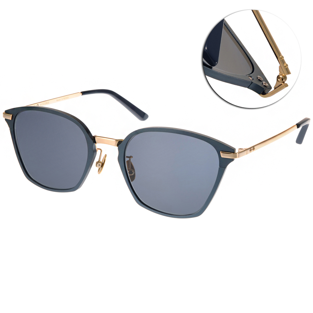 NINE ACCORD太陽眼鏡 復刻學院風/藍-金#DURALUMIN BEN C01