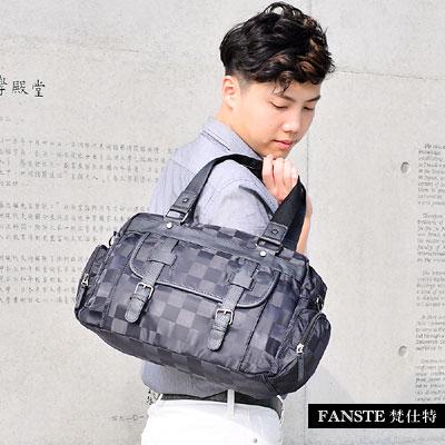 Fanste_梵仕特 休閒旅行袋 多功能側背包-9439