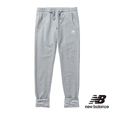 New Balance 印花褲口針織長褲 AWP61625HGR 女性麻灰