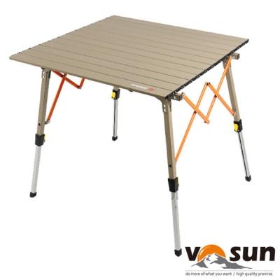 【WEST FIELD】加強型超輕航空鋁合金折疊鋁捲桌