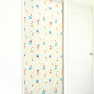 布安於室-熱氣球遮光風水簾-米黃