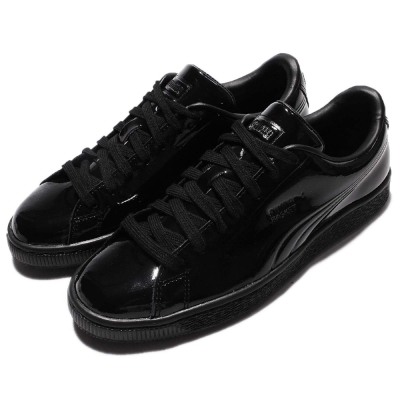 Puma Basket Classic Patent女鞋