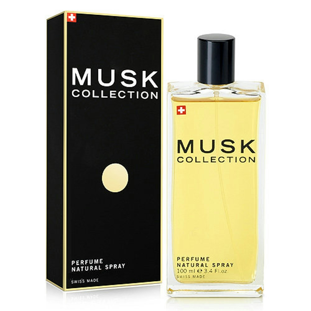 Musk Collection 瑞士經典黑麝香淡香水 100ml 搭贈原廠紙袋
