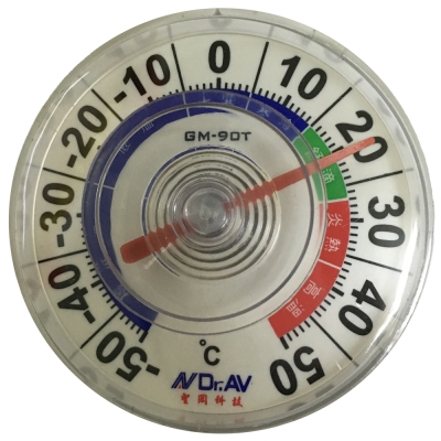 GM-90T 吸盤式防水室外溫度計(一組2入)