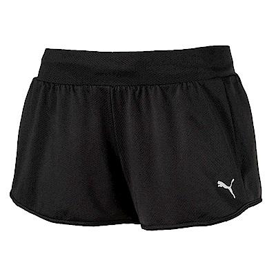 PUMA-女性訓練系列網布短褲-黑色-歐規