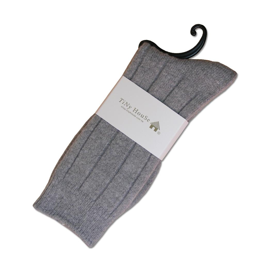 TiNyHouSe保暖羊毛襪 淺灰2入
