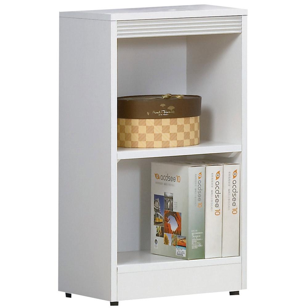 時尚屋 布萊尼1.3x2.5尺開放書櫃 寬39.5cm