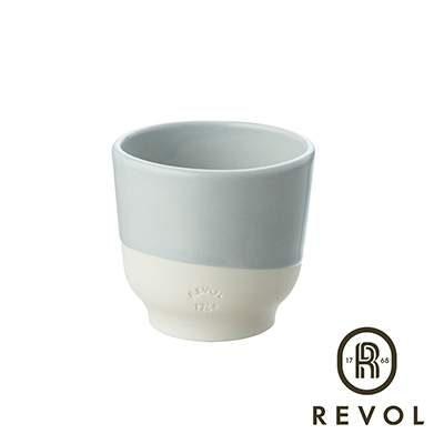 法國REVOL-Color-Lab-雙色杯80灰