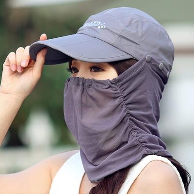 Seoul Show 男女可摺疊防水遮陽棒球帽  灰色