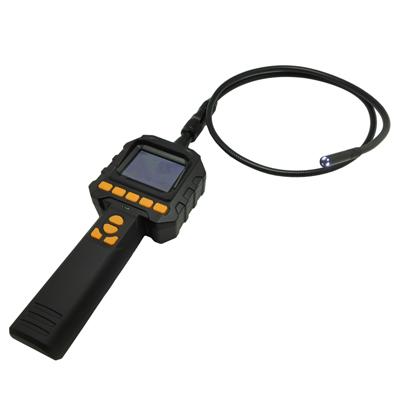 【CHICHIAU】2.4吋手持式插卡錄影螢幕型蛇管攝影機