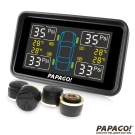 PAPAGO ! TireSafe S10E獨立型胎外式胎壓偵測器 -胎外式-急速配