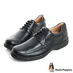 Hush Puppies BULLMATIAN 舒適紳士皮鞋-黑
