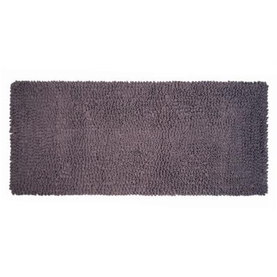 Yvonne Collection法蘭絨素色長方形地墊-灰