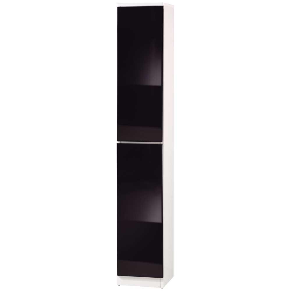 《夢想家》威尼斯1尺兩密門鏡面PU書櫃