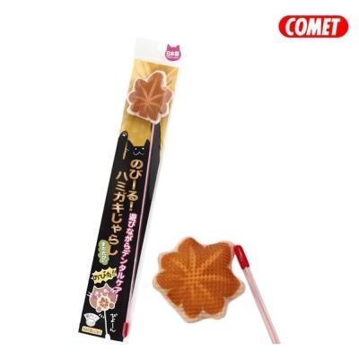 日本COMET 木天蓼伸縮逗貓棒 楓葉燒
