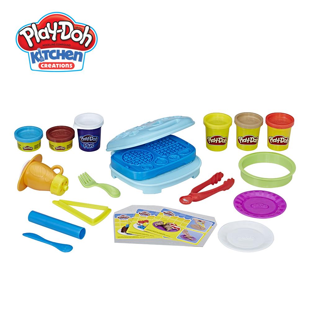 Play-Doh 培樂多-培樂多廚房系列 鬆餅早餐組
