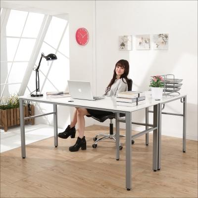 BuyJM 鏡面環保低甲醛L型穩重工作桌160+80公分-DIY