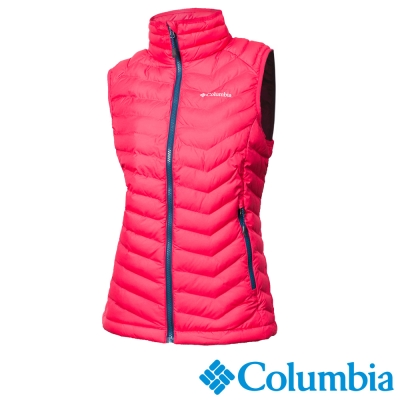 Columbia哥倫比亞 女款-OH化纖保暖背心-紅色 UWK00520RD