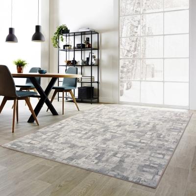 范登伯格 - 朝暘 進口地毯-渲染 - 淺灰 (大款- 200  x  290 cm)