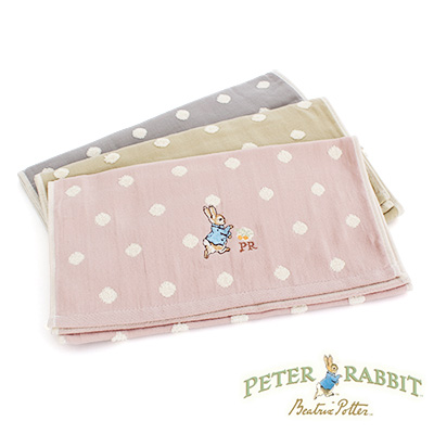 PeterRabbit彼得兔-田園點點無捻精繡雙面