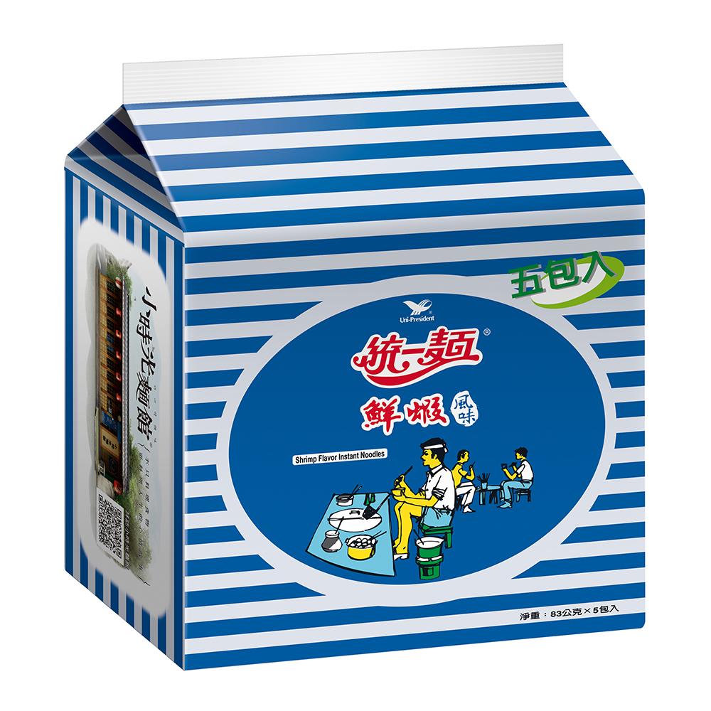 統一麵 鮮蝦風味(5入/袋)