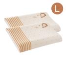 小獅王辛巴 有機棉乳膠舒眠枕(L)2入組