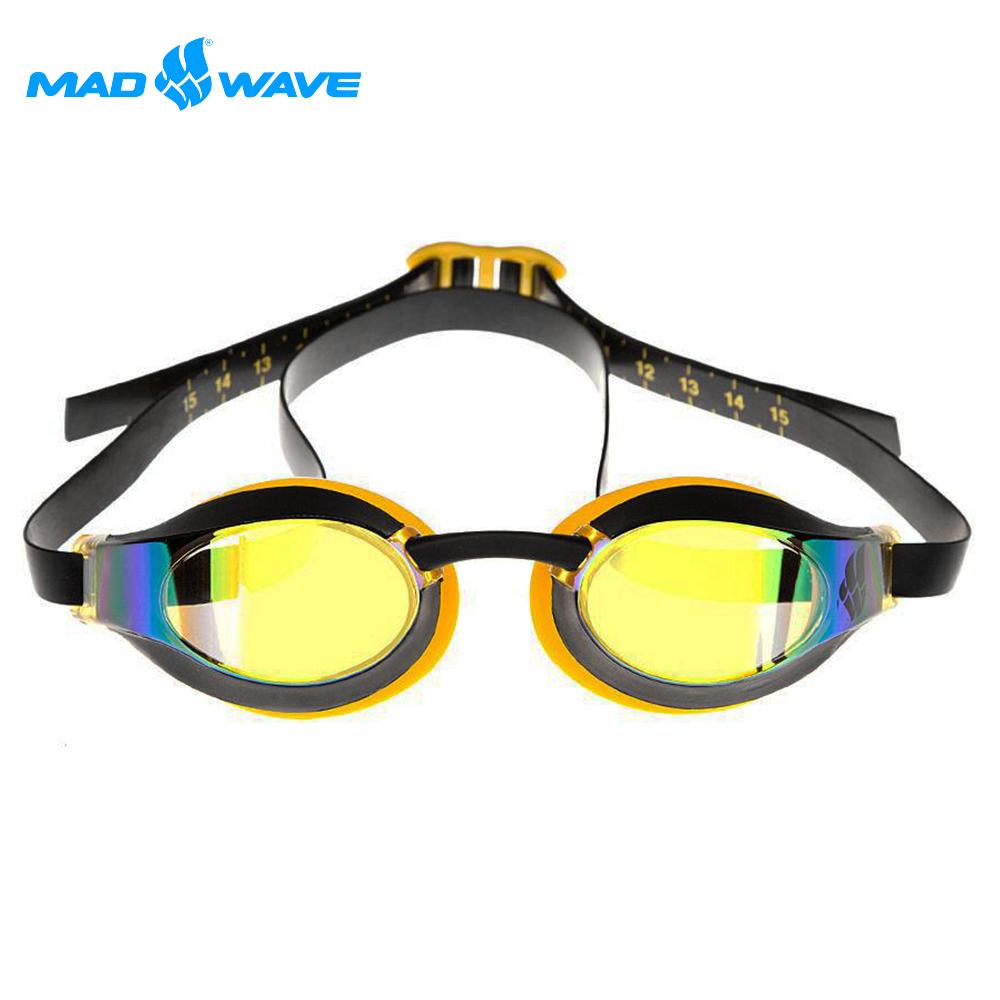俄羅斯 邁俄威 成人泳鏡 MADWAVE X-LOOK RAINBOW