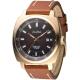 ALBA雅柏手錶 時代金典知性時尚男錶-琥珀色x金框(AS9850X1)/45mm 保固二年 product thumbnail 1