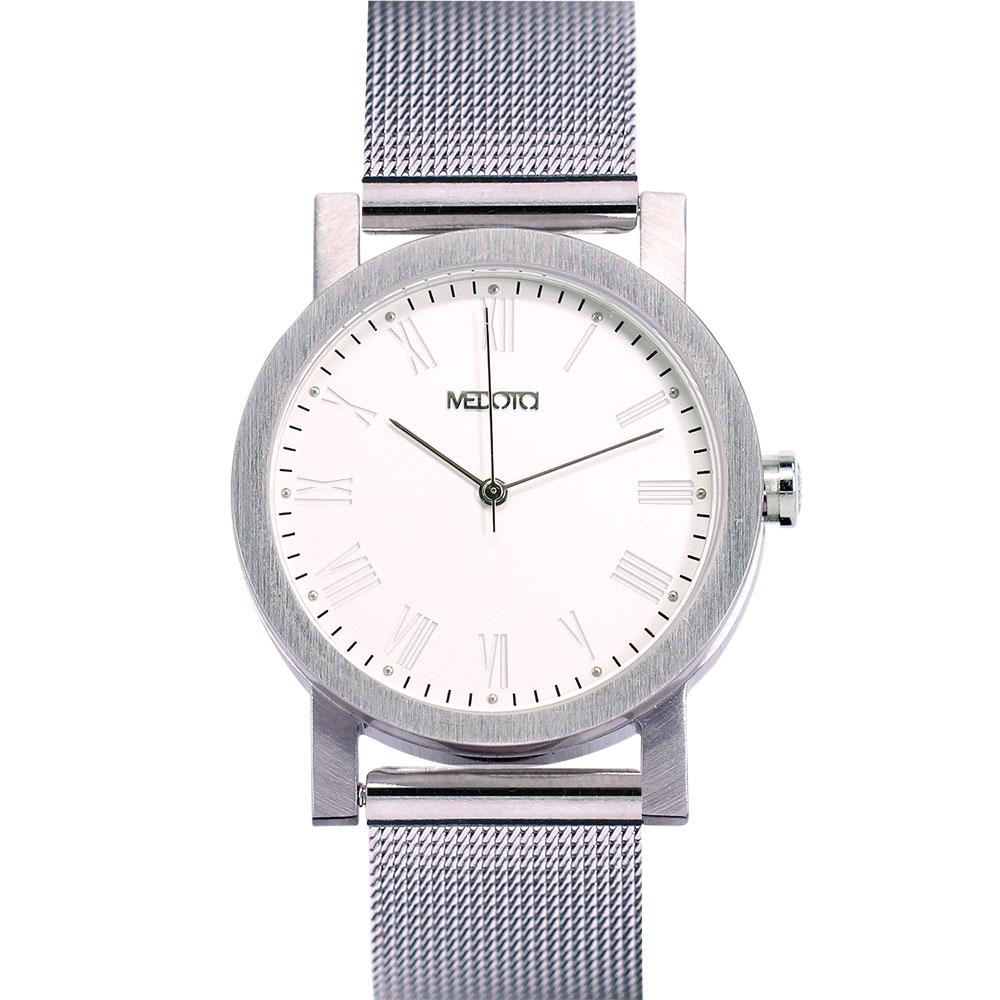 MEDOTA 極簡輕薄手錶系列 – 女錶 銀色/30mm