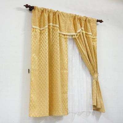 布安於室-金格雙層穿管式窗簾