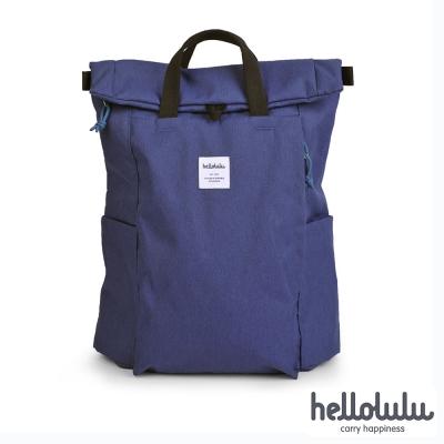 Hellolulu Tate多功能設計款後背包-荷蘭藍