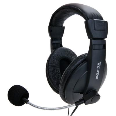 T.C.STAR雙耳頭戴式耳機麥克風TCE8766
