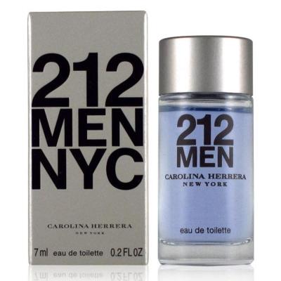 CarolinaHerrera 212MEN都會男性淡香水7ml