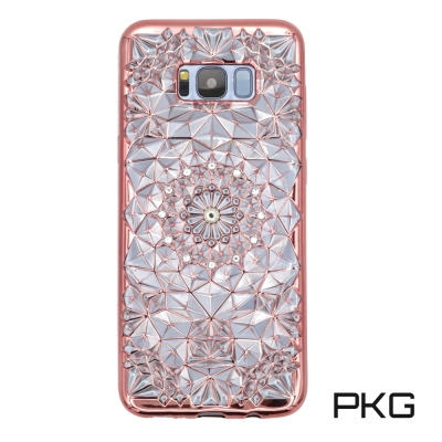 PKG 三星S8 PLUS電鍍手機套(精緻祼彫系列)