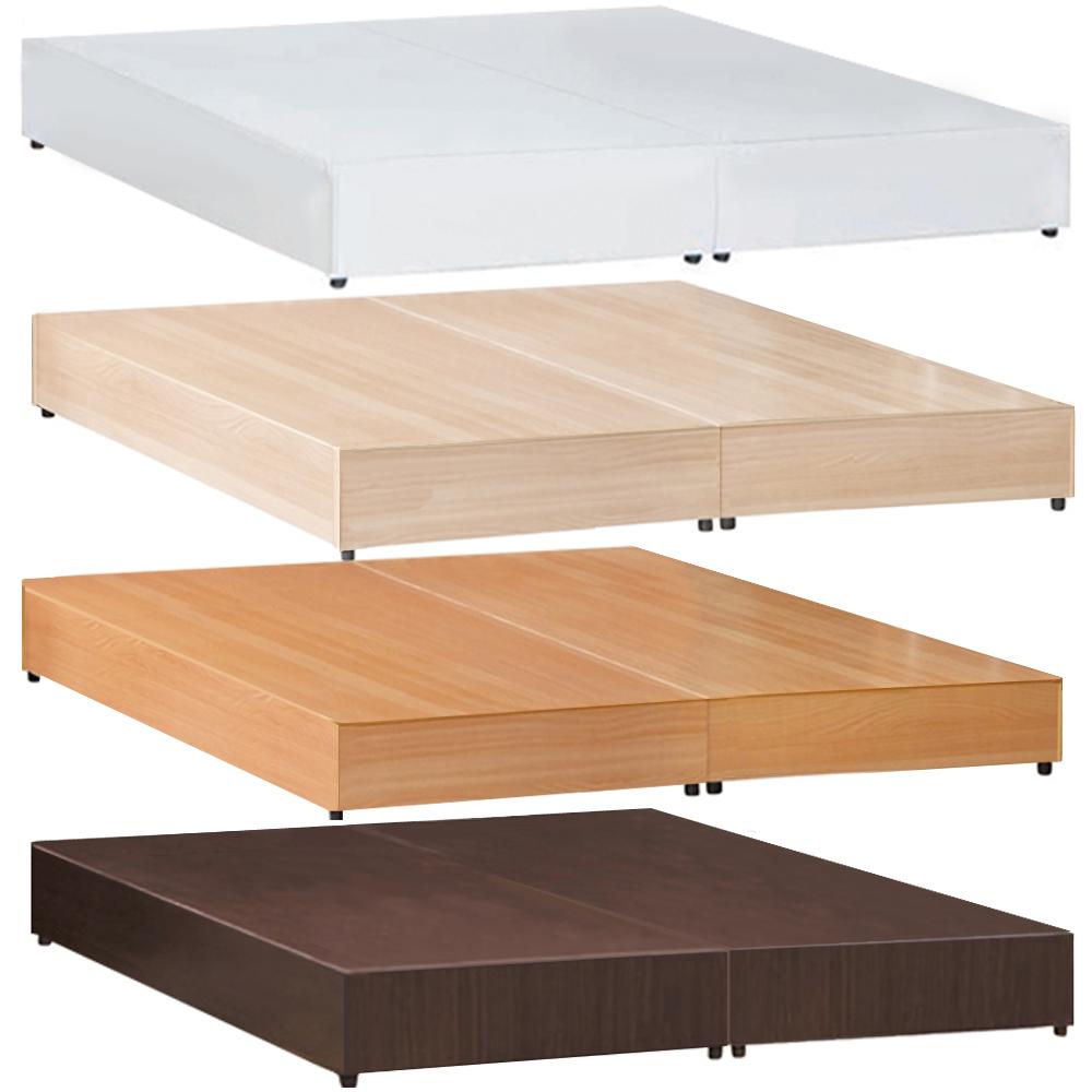 愛比家具必備款3.5尺單人床底-三分板四色可選
